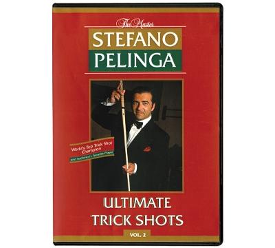 Stefano Pelinga's Ultimate Trick Shots Vol 2 DVD