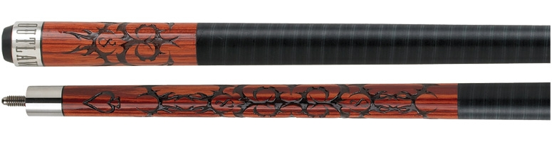 Outlaw Cherry Stained Cue