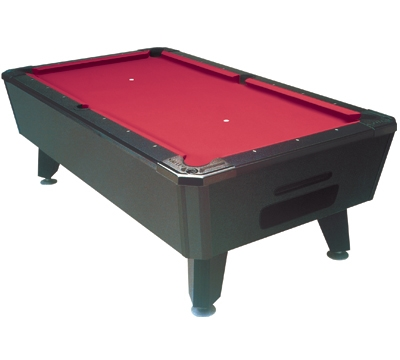 Used Valley Black Cat Pool Table