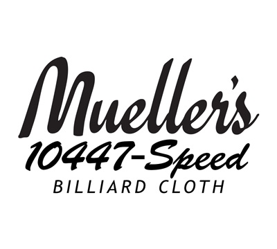 Mueller's 10447-Speed Billiard Cloth – Rubber-Backed