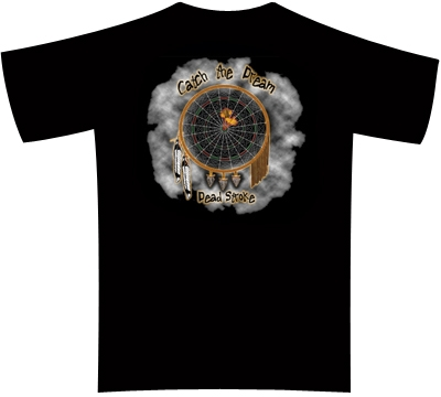 Dead Stroke Dart T Shirt Dart Dream Mueller S Billiard
