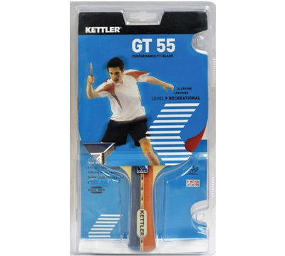 Kettler GT 55 Table Tennis Paddle