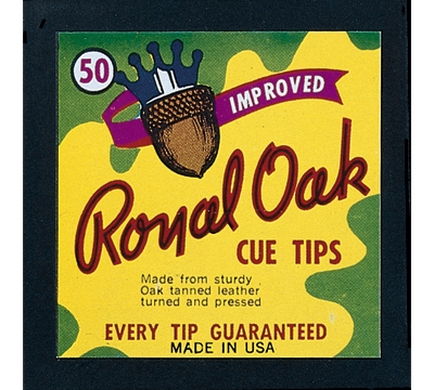 Royal Oak Cue Tips – 13mm