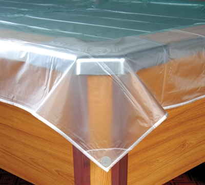 10' Clear Dust Cover