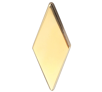 Metal Diamond Polished Brass