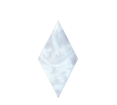 "Plastic Diamond Sight, 1-3/16"" x 19/32"""