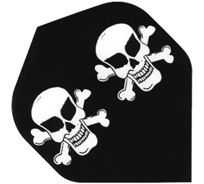 Skull & Cross Bones Hard Poly Flight