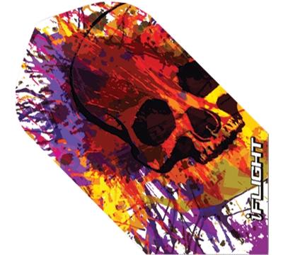 i-Flight Paint Skull Slim Flight