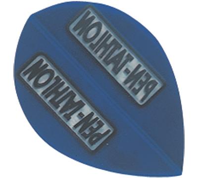 Blue Double-Thick Poly Pentathlon Pear Flight