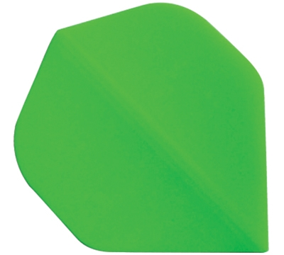 NEON GREEN STANDARD HARD POLY FLIGHT