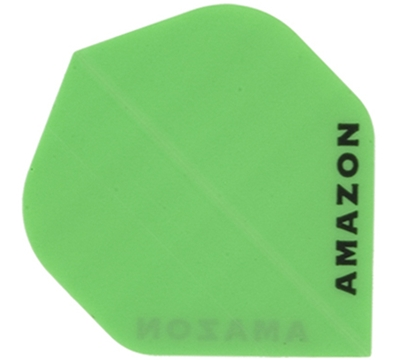 Neon Green Amazon Hard Poly Flight