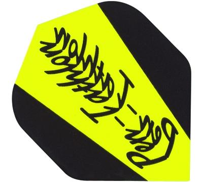Pentathlon Poly Standard Flight - Yellow/Black